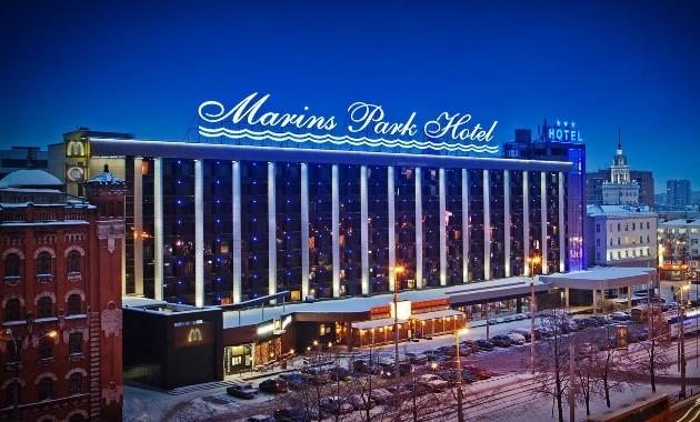 Маринс Парк Отель Екатеринбург***