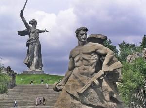 Монумент «Родина-мать зовёт!»